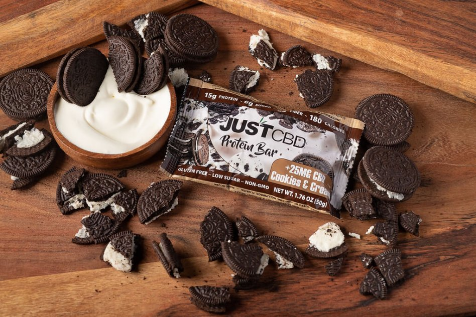 JustCBD CBD Protein Bars picture