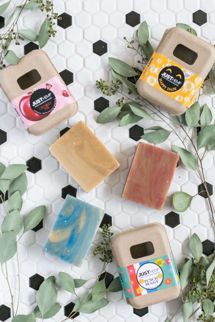 JustCBD Bath Bombs, Hemp Soap and Massage Oil picture