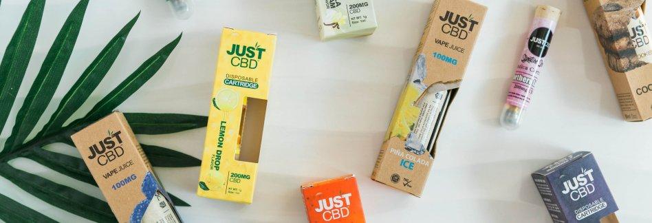 JustCBD CBD Vape Cartridges picture