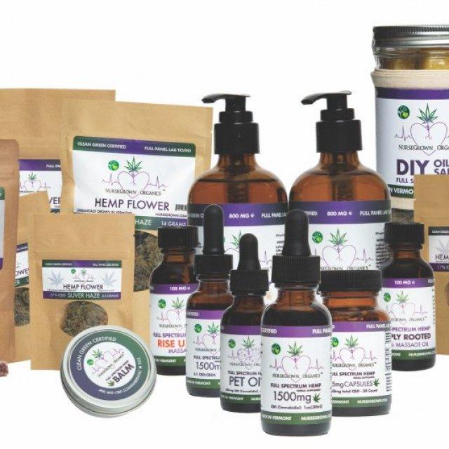 NurseGrown Organics Hemp and CBD